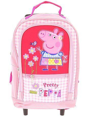 Rugzak met wieltjes van 'Peppa Pig' - Kiabi