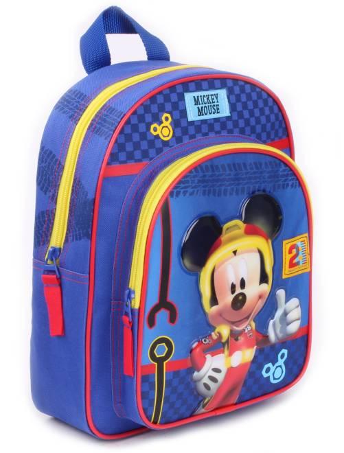 Rugzak van 'Mickey' blauw Kinderkleding jongens