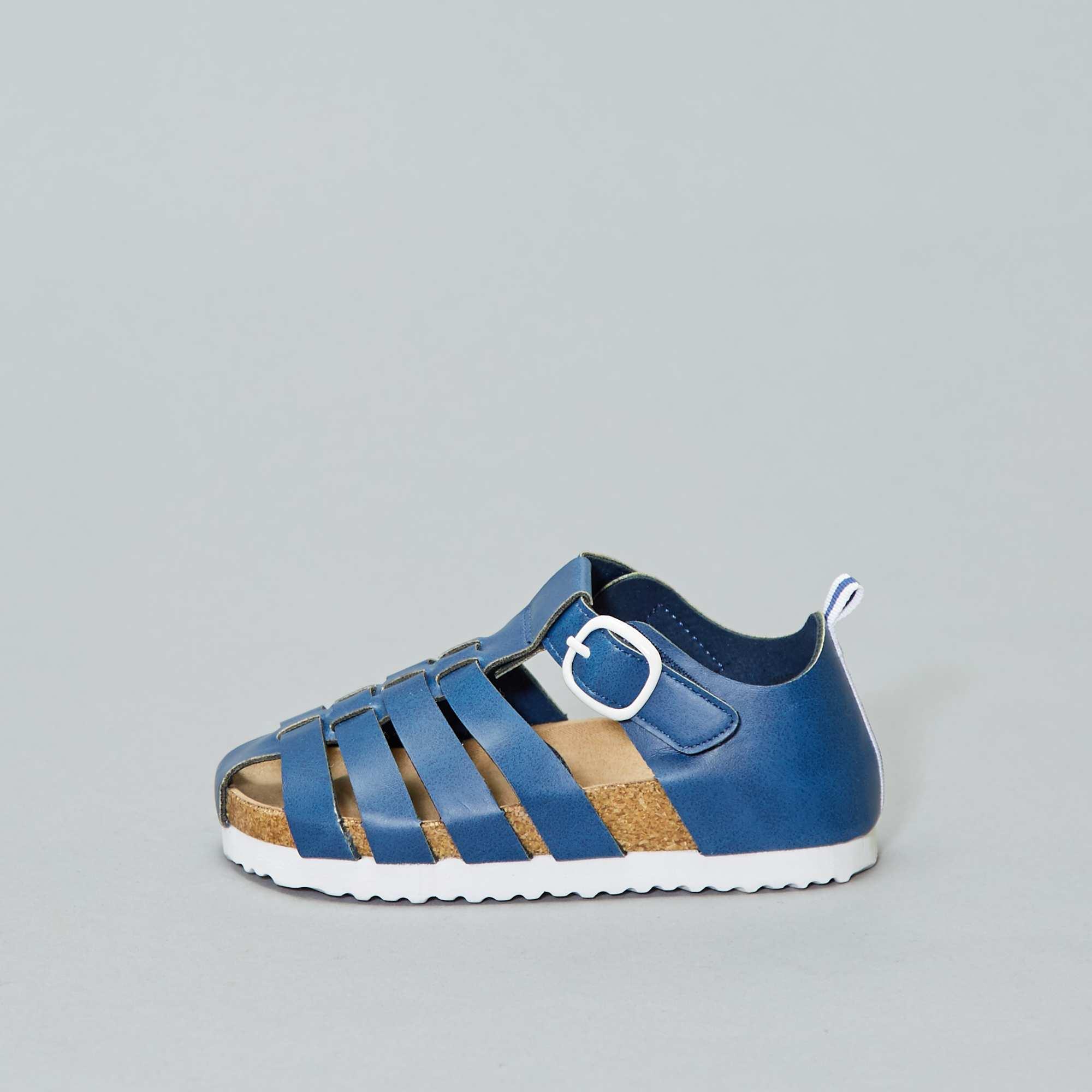 23b2944b8fe Sandalen Kinderkleding jongens - blauw - Kiabi - 10,00€