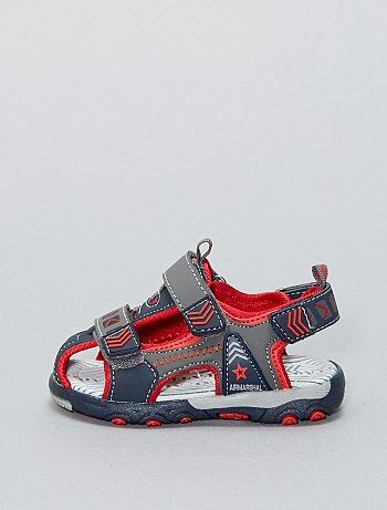Sandalen met klittenband - Kiabi