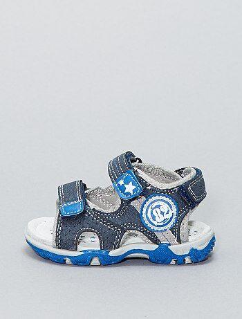 Sandalen van imitatieleer - Kiabi