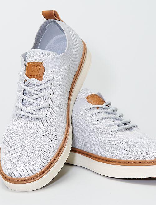 Schoenen van gaasstof                             grijs