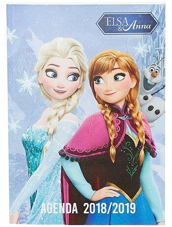 Schoolagenda van 'Frozen' - Kiabi