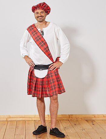 Heren - Schots verkleedkostuum - Kiabi