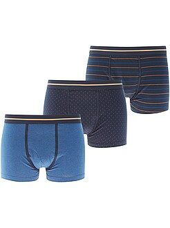 Ondergoed - Set met 3 boxers - Kiabi