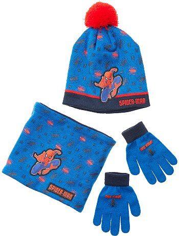 Set met een muts, handschoenen en een snood van 'Spider-Man' - Kiabi