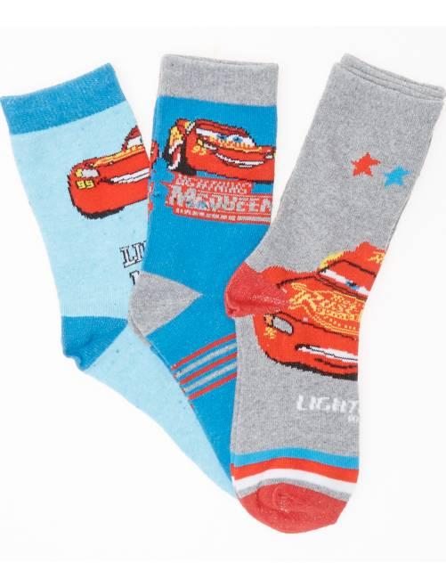 Set sokken van 'Cars'                                         ROOD Kinderkleding jongens