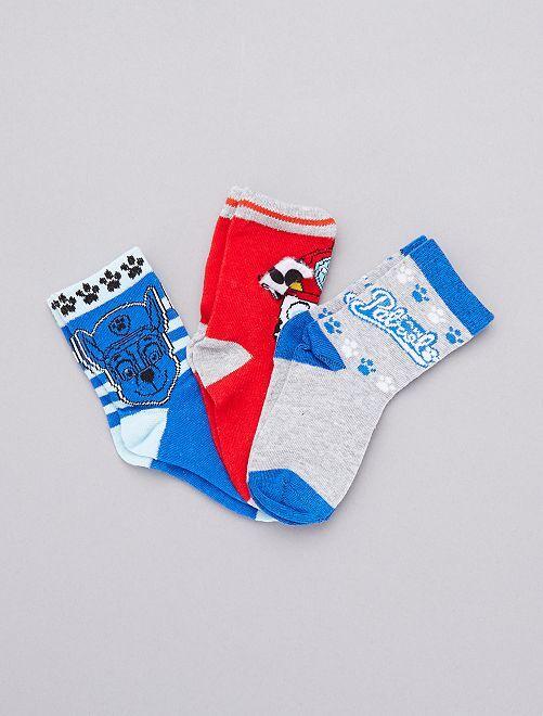 Set sokken van 'Paw Patrol'                                         ROOD Kinderkleding jongens