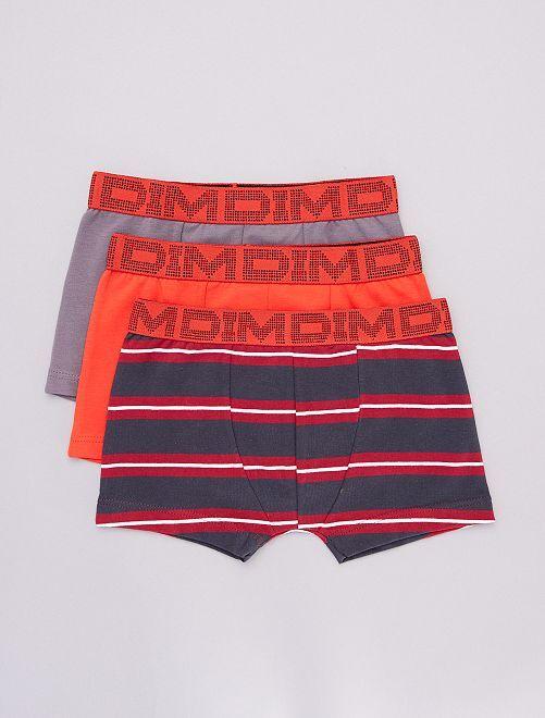 Set van 2 boxers + 1 gratis 'DIM'                             GRIJS