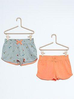 Set van 2 katoenen shorts