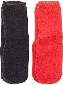 Sokken - Set van 2 paar antislipsokken - Kiabi