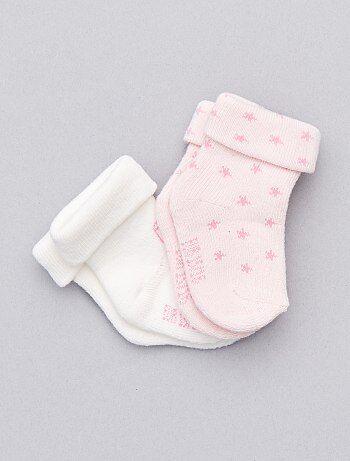 Set van 2 paar sokken van biologisch katoen - Kiabi