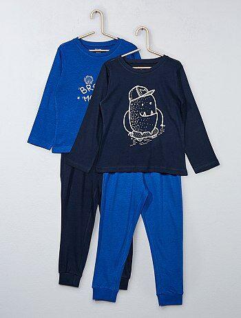 Set van 2 tweedelige pyjama's - Kiabi