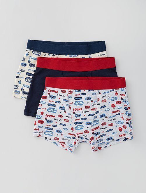Set van 3 boxers                                                                                                                                                                                                                 GRIJS