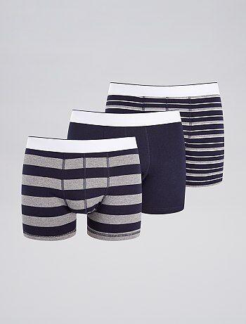b19c242cf9a Volop keuze in trendy heren ondergoed met een perfecte pasvorm | Kiabi