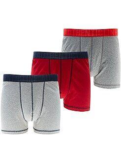 Ondergoed - Set van 3 boxershorts, grote maten