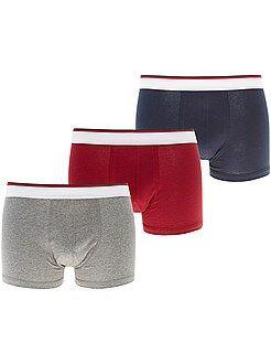 Ondergoed - Set van 3 boxershorts - Kiabi