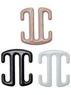 Lingerie accessoires - Set van 3 clips voor beha's