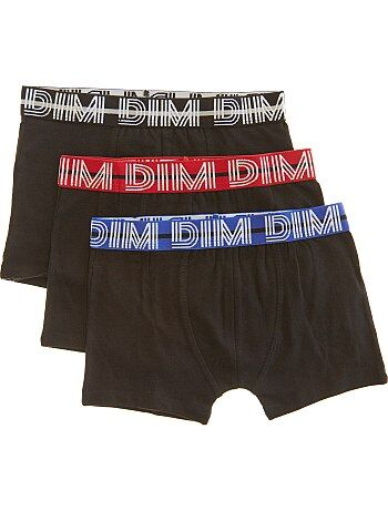 18045f16aad5d0 Jongenskleding 3-12 jaar - Set van 3 effen boxershorts van 'Dim' -
