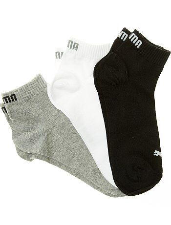 Set van 3 paar korte 'Puma' sokken - Kiabi