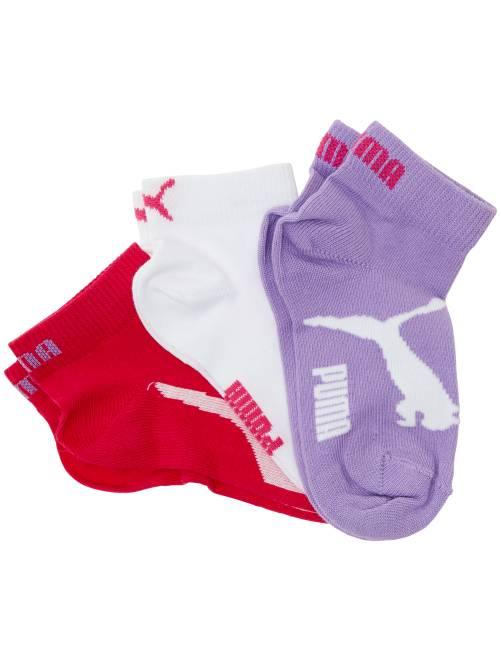 Set van 3 paar korte 'Puma' sokken met korte schacht ROSE Kinderkleding jongen