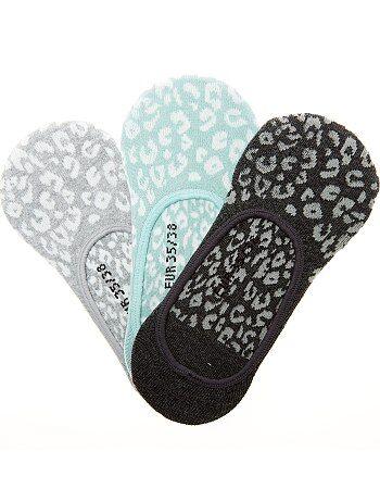 Set van 3 paar lage sokken - Kiabi