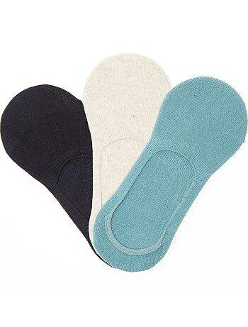 Set van 3 paar onzichtbare sokken - Kiabi