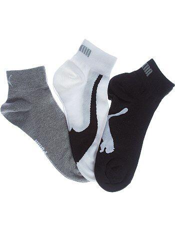 Set van 3 paar 'Puma' korte sokken - Kiabi