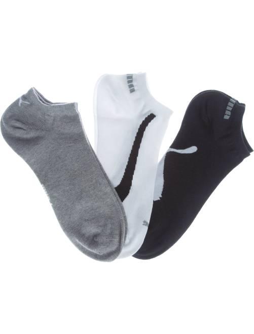 Set van 3 paar 'Puma' sokjes                                         wit / grijs / zwart