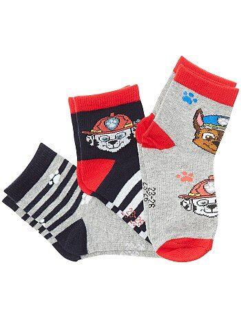 Jongenskleding 3-12 jaar - Set van 3 paar sokken - Kiabi