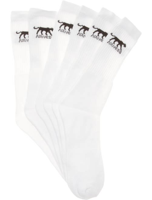 Set van 3 paar sokken van 'Airness'                             wit