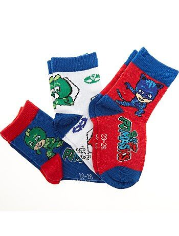 Set van 3 paar sokken van 'Pyjamahelden' - Kiabi