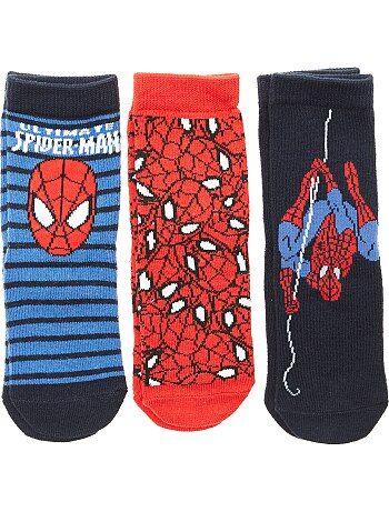 Set van 3 paar sokken van 'Spider-Man' - Kiabi