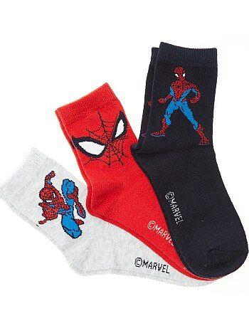 Set van 3 paar sokken van 'Spider-Man' van 'Marvel' - Kiabi