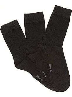 Herenmode grote maten Set van 3 paar sokken