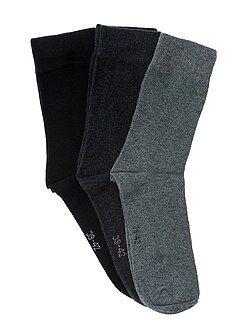 Sokken - Set van 3 paar sokken - Kiabi