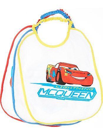 Set van 3 slabbetjes van 'Flash McQueen' van 'Disney' - Kiabi