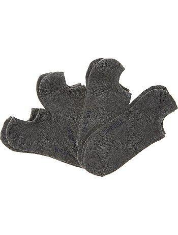 Set van 4 paar lage sokken - Kiabi