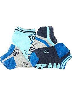Sokken - Set van 4 paar onzichtbare sokken