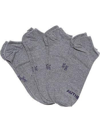 Set van 4 paar onzichtbare sokken - Kiabi