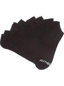 Herenmode maat S-XXL Set van 4 paar onzichtbare sokken