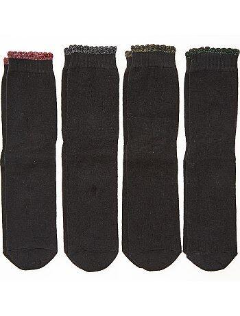 Set van 4 paar sokken - Kiabi