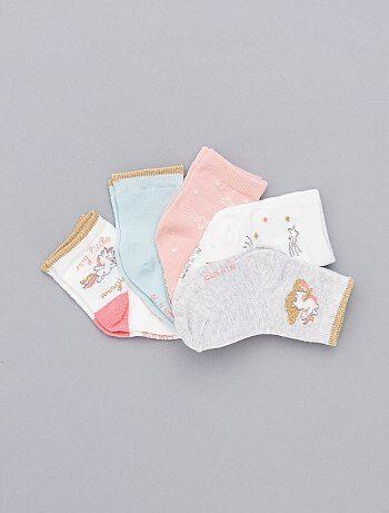 Set van 5 paar met print - Kiabi