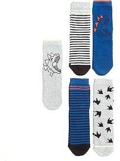 Sokken - Set van 5 paar sokken - Kiabi