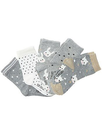 Set van 5 paar sokken - Kiabi