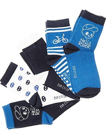 Jongenskleding 3-12 jaar - Set van 5 paar sokken - Kiabi