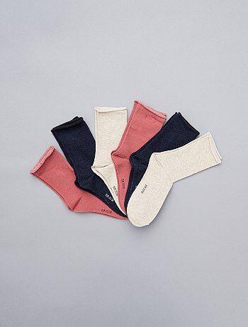 Set van 6 paar sokken - Kiabi