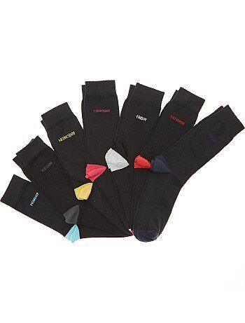 Set van 7 paar sokken voor elke dag van de week - Kiabi