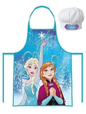 Set van een schort en een koksmuts van 'Frozen' - Kiabi