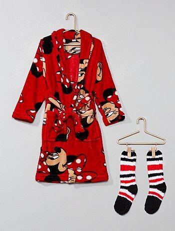 Setje met een badjas en sokken van 'Minnie' - Kiabi